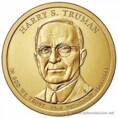 Monnaies anciennes d'Amérique: ESTADOS UNIDOS / USA 1$ 2015 PRESIDENTE 33º HARRY S. TRUMAN (1945-1953) P. Lote 195623208