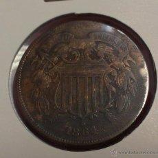 Monedas antiguas de América: ESTADOS UNIDOS 2 CENTS 1864. Lote 49698312