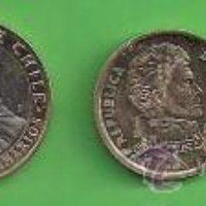 Monedas antiguas de América: MONEDA - CHILE - LOTE DE 5 MONEDAS DE 1 - 5 -10 - 50 - 100. PESOS.. Lote 50202878