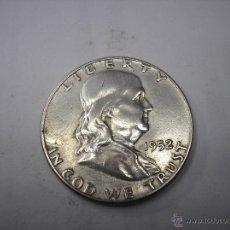 Monedas antiguas de América: 1/2 DOLAR DE PLATA DE USA DE 1952. PRESIDENTE FRANKLIN. Lote 50651177