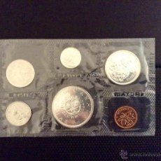 Monedas antiguas de América: CANADA 1964 PROOF-LIKE SET 6 MONEDAS 4 DE PLATA (1 DOLLAR CONMEMORATIVO CHARLOTTETOWN-QUEBEC). Lote 50699092