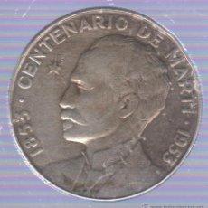 Monedas antiguas de América: CUBA. 1 PESO. CENTENARIO DE MARTI. 1953. Lote 51006322