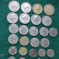 Monedas antiguas de América: LOTE DE MONEDAS DE ESTADOS UNIDOS. Lote 52287554