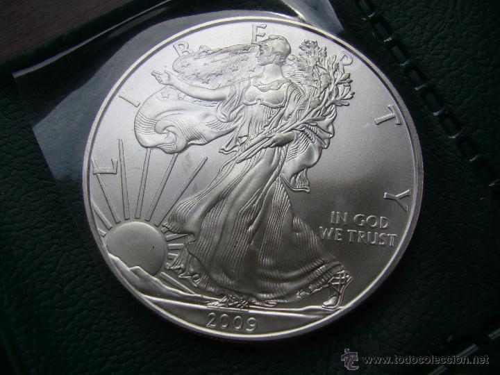 Monedas antiguas de América: Lote de 24 monedas de plata 1 dolar 1986 a 2009 USA silver eagle dollar - Foto 3 - 56679339