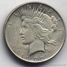 Monedas antiguas de América: ESTADOS UNIDOS 1 DOLAR 1922. Lote 53164777