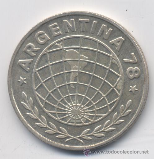 ARGENTINA- 3000 PESOS-1978-PLATA-SC (Numismática - Extranjeras - América)