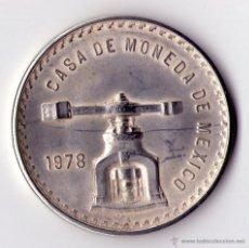 Monedas antiguas de América: CASA MONEDA DE MEXICO 1978-UNA ONZA TROY DE PLATA PURA. Lote 53958248