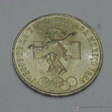 Monedas antiguas de América: MONEDA DE 25 PESOS ESTADOS UNIDOS MEXICANOS, JUEGOS DE LA XIX OLIMPIADA 1968, LEY. 0.720, PESA 22,49. Lote 54339765