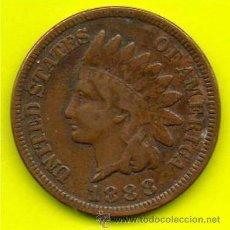 Monedas antiguas de América: USA 1 CENT 1888.. Lote 54378540