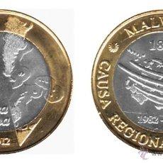 Monedas antiguas de América: ARGENTINA 2 PESOS 2012 BIMETÁLICA 30º ANIVERSARIO MALVINAS. Lote 113214622