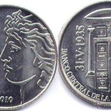 Monedas antiguas de América: ARGENTINA 2 PESOS 2010 75º ANIV. BANCO CENTRAL. Lote 110515474