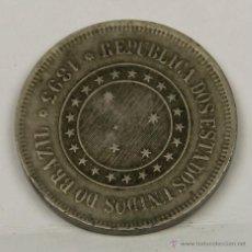 Monedas antiguas de América: MO-150 - MONEDA EN CUPRONIQUEL, REPÚBLICA DE BRASIL. 1893. 100 RÉIS.. Lote 50629572