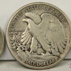 Monedas antiguas de América: MO-190 - COLECCIÓN DE 3 MONEDAS EN PLATA. AMERICANAS(VER DESCRIP).1934/1942.. Lote 51141415