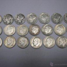 Monedas antiguas de América: USA , 20 DIMES DE PLATA , FECHAS DIFERENTES. Lote 54830616