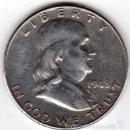 Monedas antiguas de América: MEDIO DOLAR USA 1948 BENJAMIN FRANKLIN. Lote 55372250