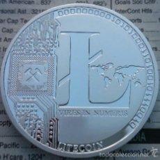 Monedas antiguas de América: MONEDA PLATA U.S.A LITECOIN 2013 CALIDAD PROOF EN CAPSULA PROTECTORA. Lote 55548737