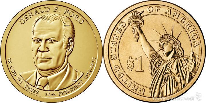 Usa 1 Dolar 2016 D 38 186 Presidente Gerald R Comprar