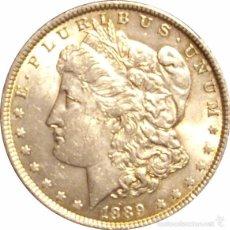 Monedas antiguas de América: USA. 1 DÓLAR MORGAN 1.889. Lote 56201891