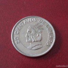Monedas antiguas de América: A881 - HONDURAS 20 CENTAVOS DE LEMPIRA 1973. Lote 56251586