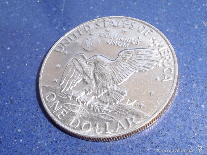 Monedas antiguas de América: Rarisima moneda dolar USA HOBO NICKEL Eisenhower 1974 raro modificado calavera firmada DC craneo - Foto 3 - 56280877