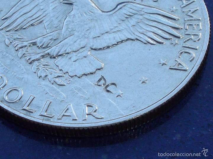 Monedas antiguas de América: Rarisima moneda dolar USA HOBO NICKEL Eisenhower 1974 raro modificado calavera firmada DC craneo - Foto 5 - 56280877