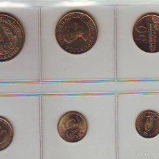 Monedas antiguas de América: 6 MONEDAS PARAGUAY 1990-2002. Lote 56323476