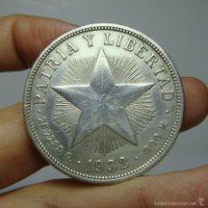 Monedas antiguas de América: 1 PESO. PLATA. CUBA - 1932. Lote 56724310