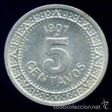 Monedas antiguas de América: MEJICO (MEXICO) - 5 CENTAVOS 1907. Lote 56798522