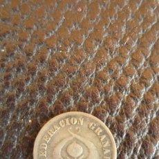 Monedas antiguas de América: COLOMBIA. MEDIO DÉCIMO. BOGOTÁ. CONFEDERACION GRANADINA 1861. LEY 0,900. SIN LIMPIAR.. Lote 57185547