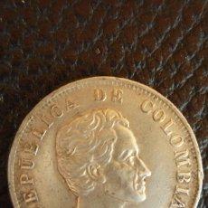 Monedas antiguas de América: REPUBLICA DE COLOMBIA. CINCUENTA CENTIMOS BOGOTÁ. 1932. 12,5 GRAMOS. LEY 0,900. SIN LIMPIAR.. Lote 57186628