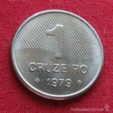 Monedas antiguas de América: BRASIL 1 CRUZEIROS 1979 FAO BRAZIL AZ2-2. Lote 143339638
