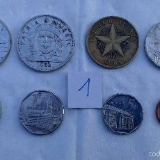 Monedas antiguas de América: LOTE MONEDAS DIFERENTES CUBA. Lote 57525768