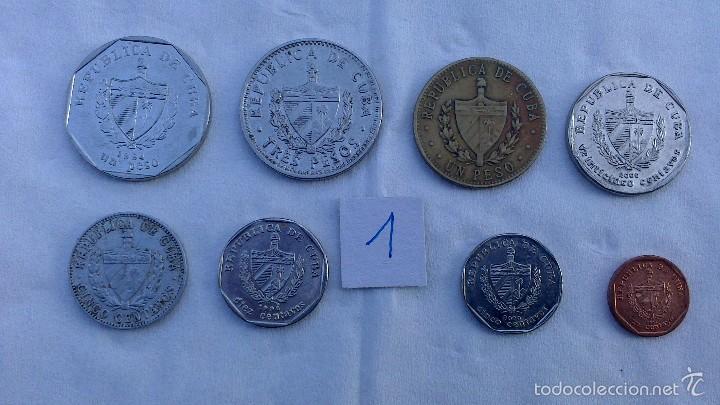 Monedas antiguas de América: lote monedas diferentes cuba - Foto 3 - 57525768