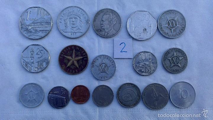 LOTE MONEDAS DIFERENTES CUBA (Numismática - Extranjeras - América)