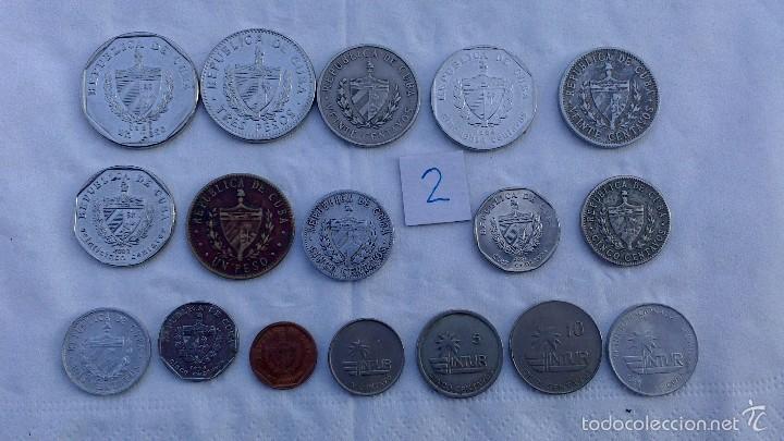 Monedas antiguas de América: lote monedas diferentes cuba - Foto 2 - 57526056