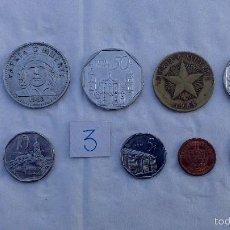 Monedas antiguas de América: LOTE MONEDAS DIFERENTES CUBA. Lote 57526108
