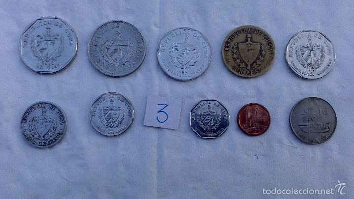 Monedas antiguas de América: lote monedas diferentes cuba - Foto 2 - 57526108