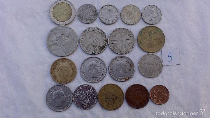 LOTE MONEDAS DIFERENTES COLOMBIA (Numismática - Extranjeras - América)