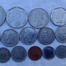 Monedas antiguas de América: LOTE MONEDAS DIFERENTES VENEZUELA. Lote 57590790