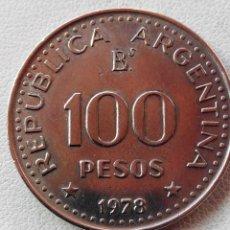 Monedas antiguas de América: MONEDA ARGENTINA 100 PESOS 1978.EBC. Lote 57673837