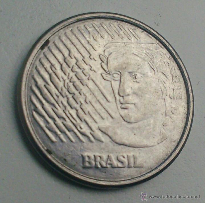 Monedas antiguas de América: MONEDA BRASIL DE 10 CENTAVOS DE 1996 - Foto 2 - 57689350