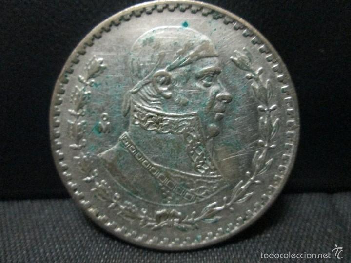 1 PESO 1962 MEXICO PLATA (Numismática - Extranjeras - América)