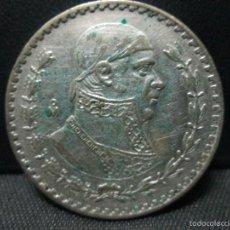 Monedas antiguas de América: 1 PESO 1962 MEXICO PLATA. Lote 57762150