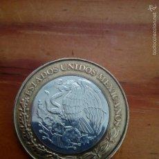 Monedas antiguas de América: 100 PESOS, ESTADO DE ZACATECAS, MEJICO, DE COLECCION,PRECIOSA.. Lote 57779298