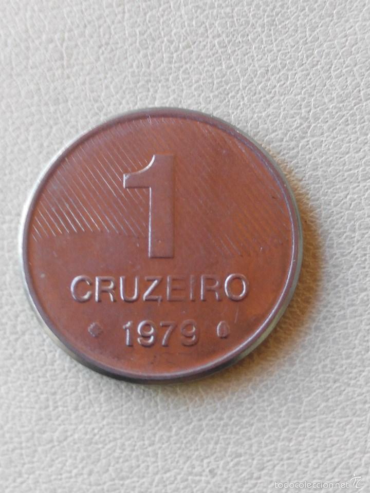 MONEDA BRASIL 1 CRUCEIRO 1979.EBC (Numismática - Extranjeras - América)