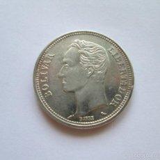 Monedas antiguas de América: VENEZUELA * 2 BOLIVARES 1960 * PLATA. Lote 57918810