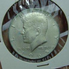 Monedas antiguas de América: 1/2 DOLAR. PLATA. KENNEDY. U.S.A - 1965. Lote 57997007