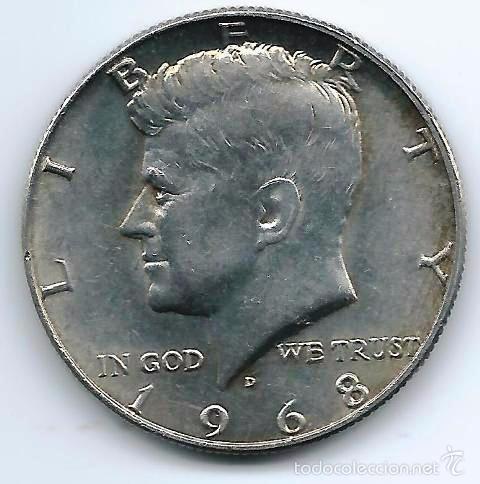 HALF DOLLAR KENEDY (Numismática - Extranjeras - América)