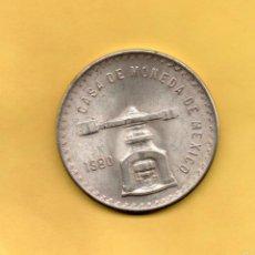 Monedas antiguas de América: MONEDA UNA ONZA TROY PLATA PURA. CASA DE LA MONEDA DE MEXICO. MEJICO. 1980. 33,625 GRAMOS. PERFECTA. Lote 58017570