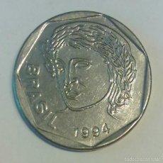 Monedas antiguas de América: BRASIL *** MONEDA 25 CENTAVOS DE REAL *** AÑO 1994. Lote 58083531